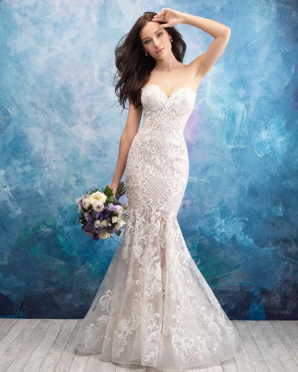 Vestido de noiva sereia tomara que caia