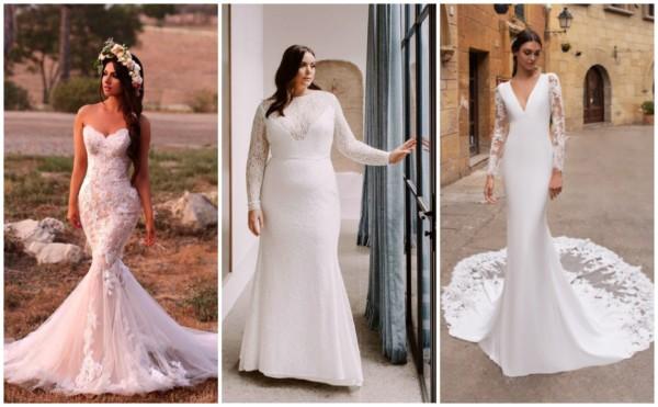 Vestidos de noiva sereia 1
