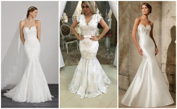 Vestidos de noiva sereia 2