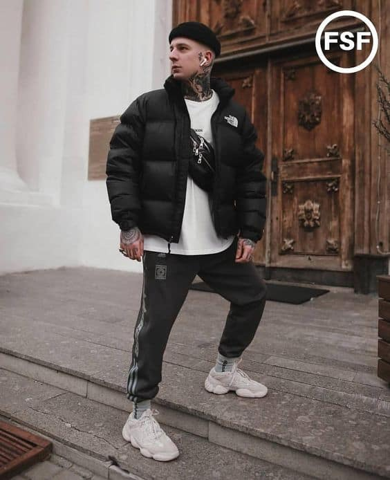 best chunky sneakers men outfit