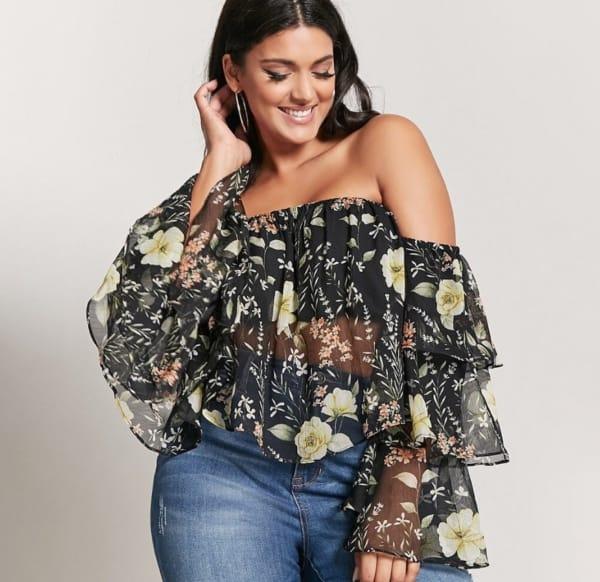 Blusa Ciganinha Plus Size: Dicas de Looks e Tendências
