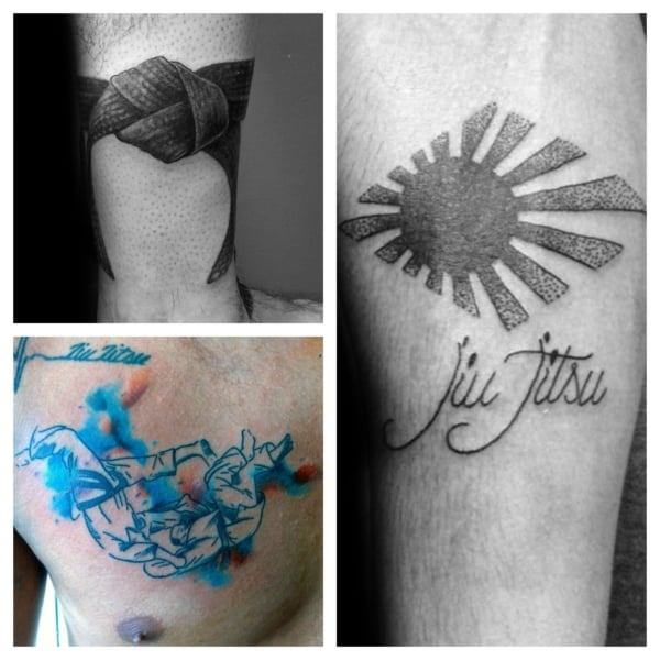 ideias de tattoo jiu jitsu