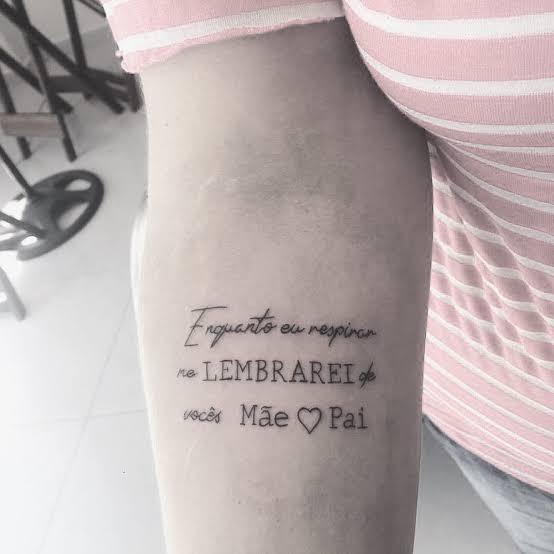 ideias de tatuagem para mãe falecida