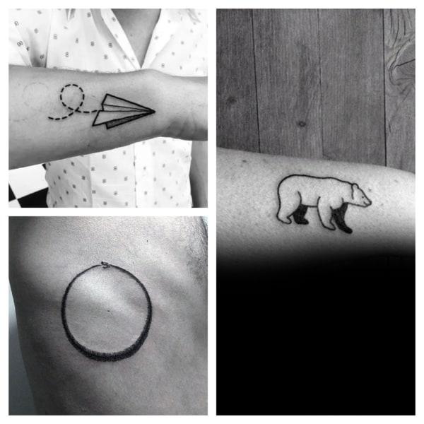 ideias de tatuagem simples