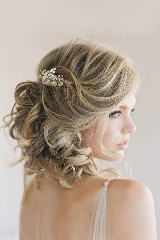 penteados de luxo cabelo curtinho