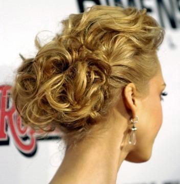 penteados de luxo cabelo curto