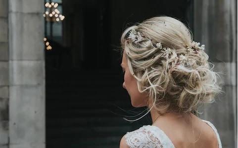penteados de luxo em casamentos