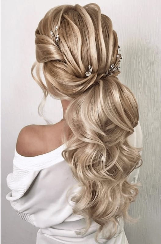 penteados de luxo para festas