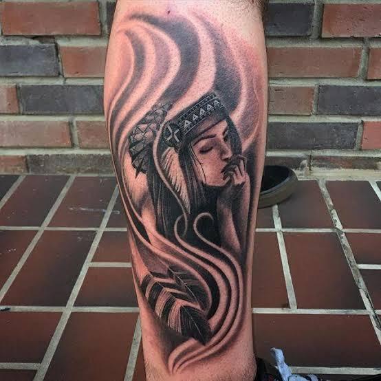 tattoo de índia