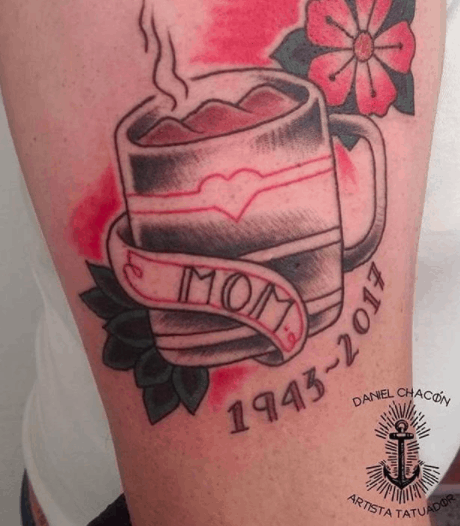 tattoo para mãe falecida