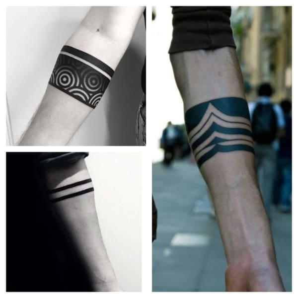 tatuagem bracelete masculino ideias 1