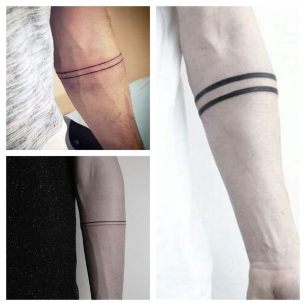 tatuagem bracelete
