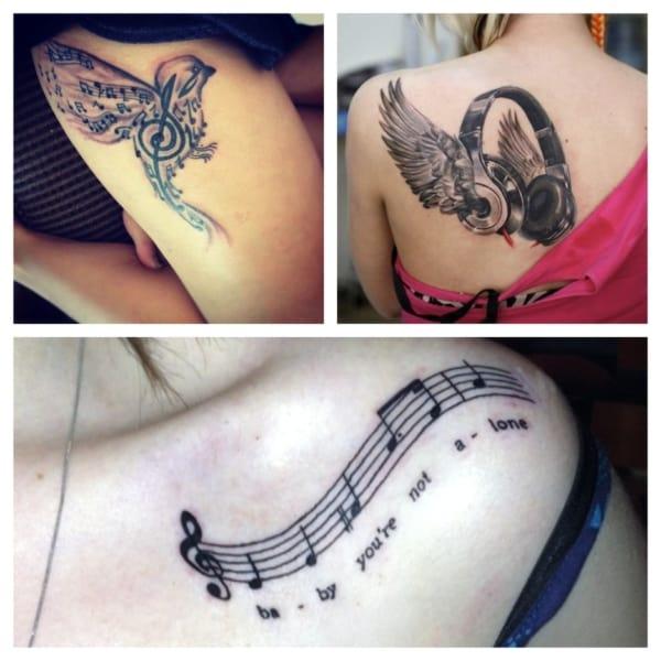tatuagem de música como fazer