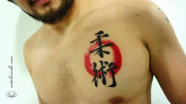 tatuagem jiu jitsu em japones como fazer