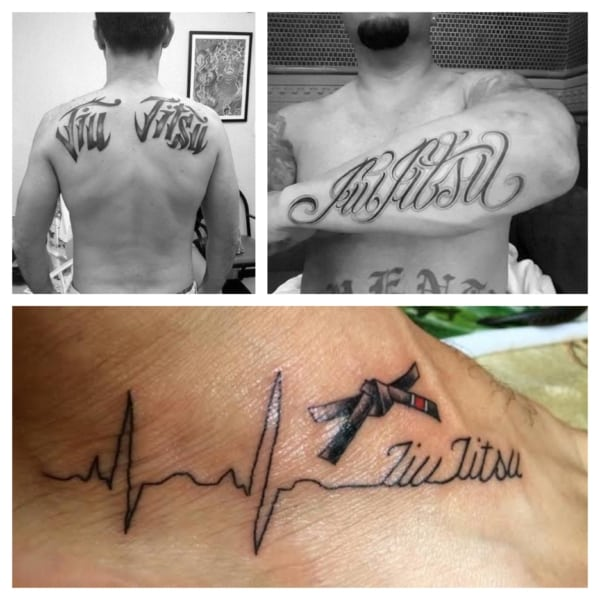 tatuagem jiu jitsu masculina