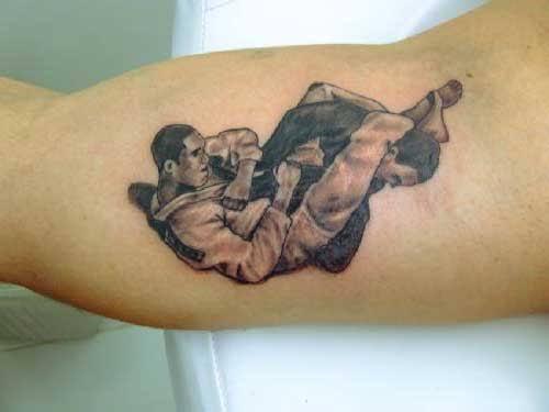 tatuagem jiu jitsu no braço como fazer