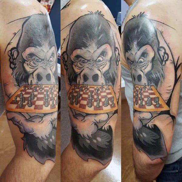 tatuagem jiu jitsu xadrez ideias