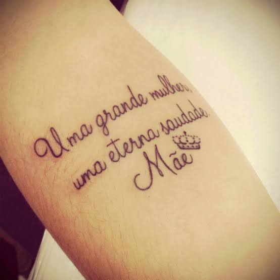 tatuagem para mãe falecida linda