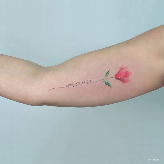 tatuagem para mãe falecida