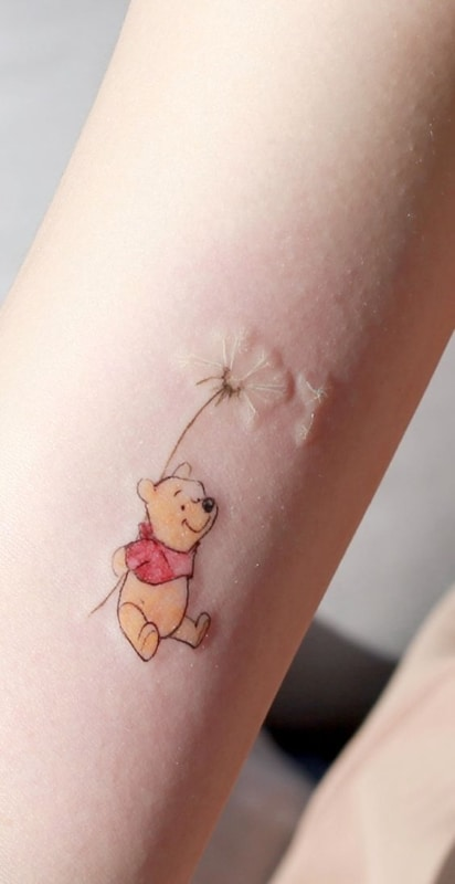 tatuagem delicada e fofa