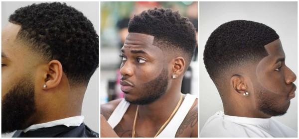 corte degradê para cabelo crespo curto