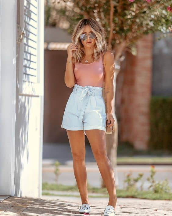 look simples com short clochard