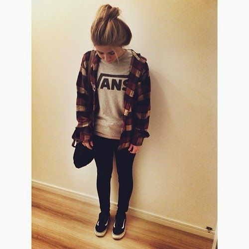 Look Tumblr feminino para escola
