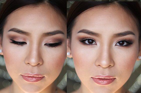 Madrinha com maquiagem leve