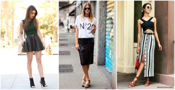 Modelos de saias – 60 dicas para escolher a saia ideal para você!