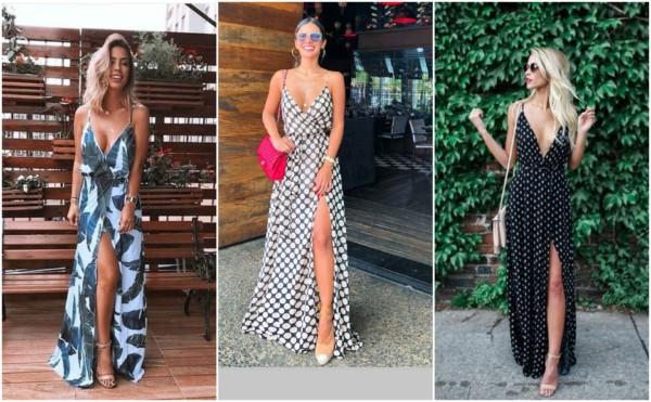 Modelos de vestidos longos 4
