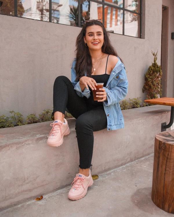 Chunky sneaker rosinha