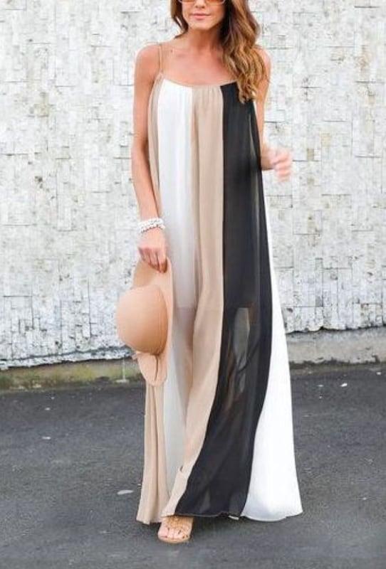 Vestido casual longo