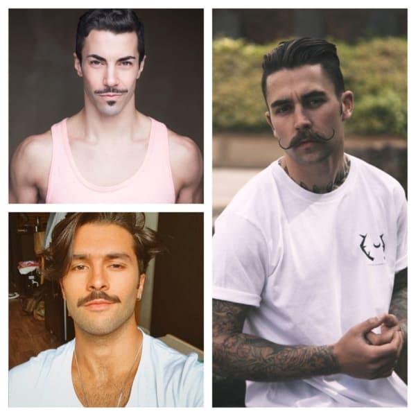 bigode tipos