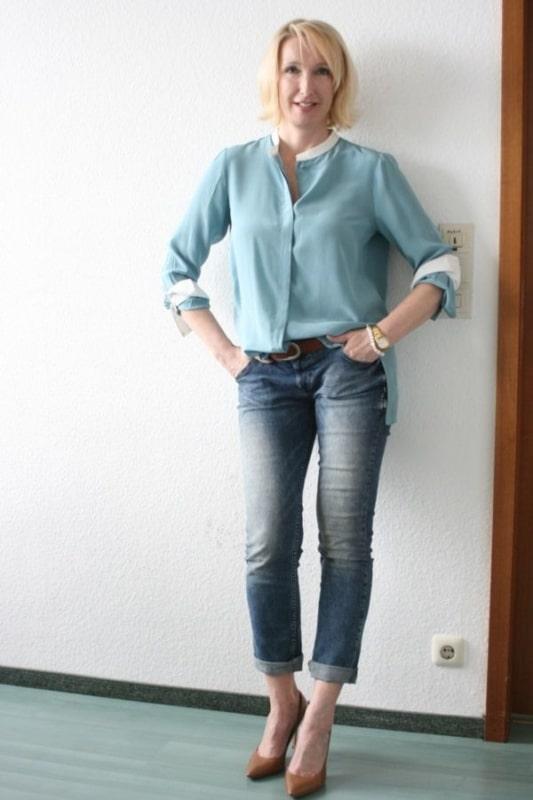 blusas para idosas social dia a dia