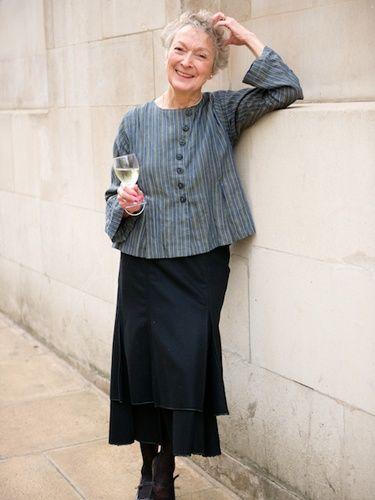 blusas para idosos cinza