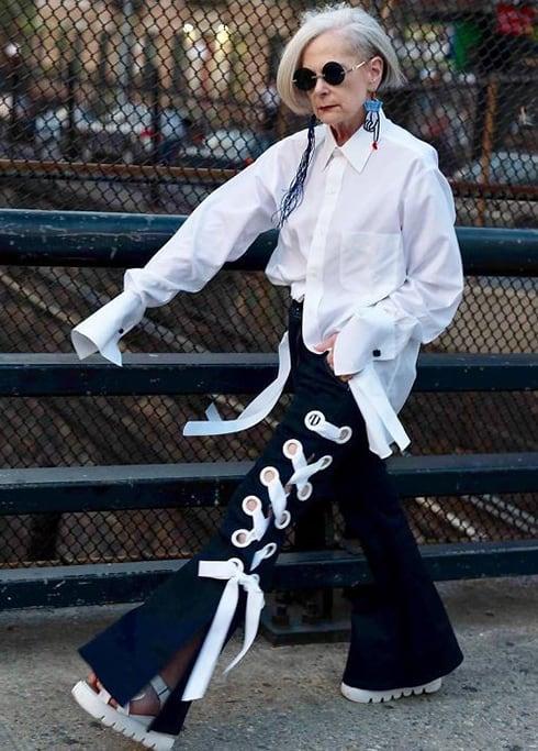 blusas para idosos fashion