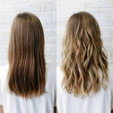 mudança de cabelo liso para cachos