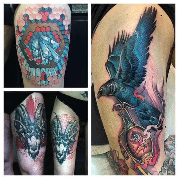 tatuagem na coxa ideias