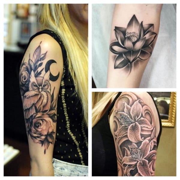 tatuagem sombreada feminina 1
