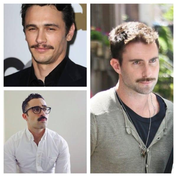 tipos de bigode masculino