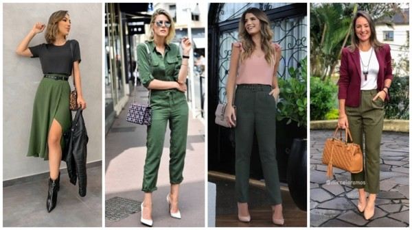 Verde militar na moda – 60 looks espetaculares para usar e combinar!