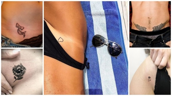 + 50 tatuagens ÍNTIMAS e sensuais ➞ As Melhores!【2020】