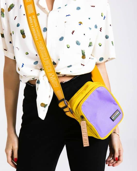 o que é shoulder bag