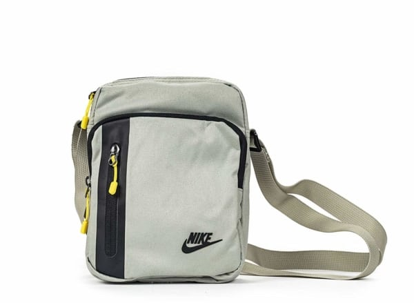 shoulder bag cinza da Nike