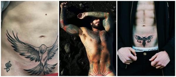 tatuagens íntimas masculina