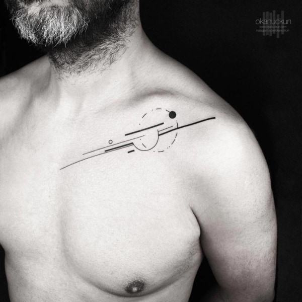 tatuagem moderna masculina