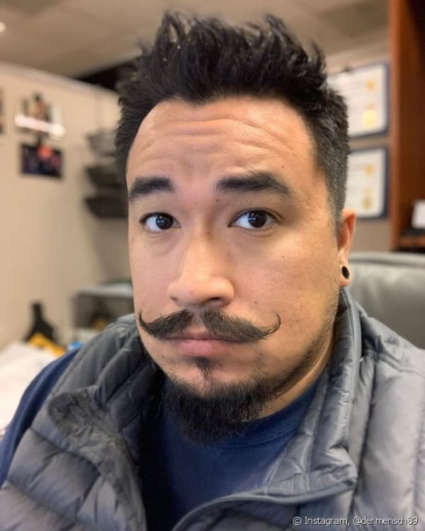 cavanhaque com barba