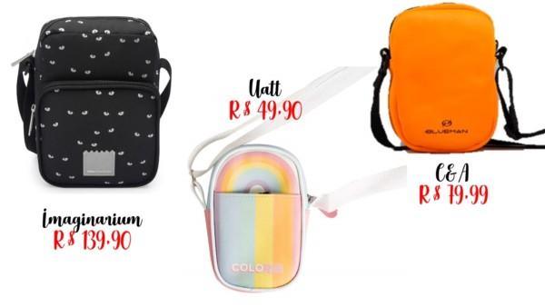 modelos simples e onde comprar shoulder bag