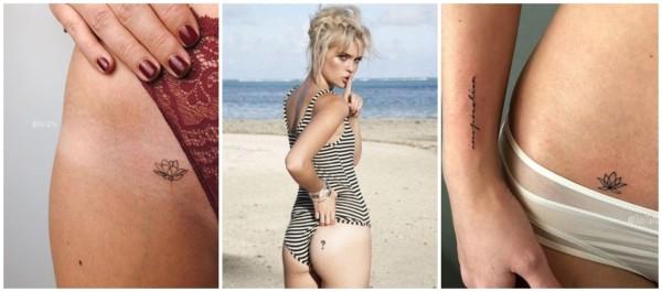 tatuagens íntimas delicadas