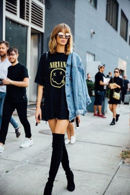 look feminino indie
